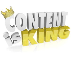Content is king in the online universe