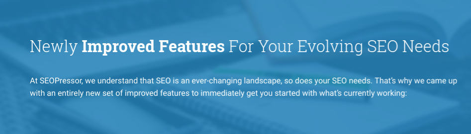 SeoPressor newly improved features for all your SEO needs