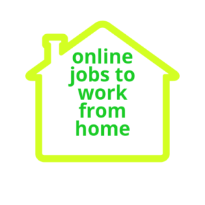 online jobs to work from home icon