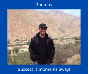 what is the wealthy affiliate? image of Thomas, personal review